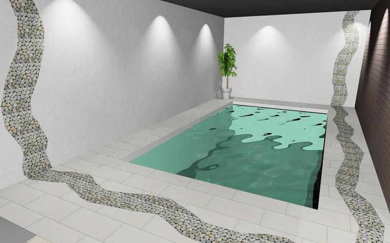 Allashuoneen 3D-suunnitelma