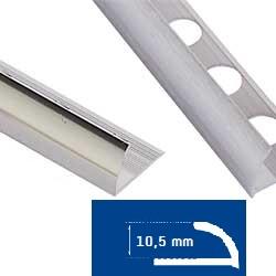 Alumiinilista J 10,5 mm