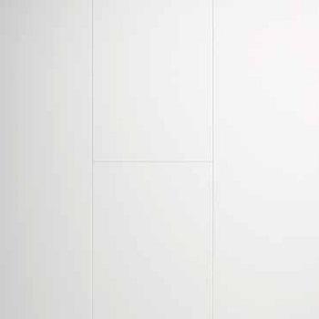 Briljant valkoinen MDF seinä- ja kattopaneeli 10x262x2600 mm sarjasta Design Collection