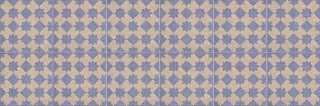 marokkolaiset laatat colmar star blu