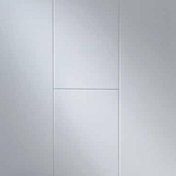 Korkeakiilto valkoinen MDF seinä- ja kattopaneeli 10x190x2600 mm sarjasta Nordic Dream