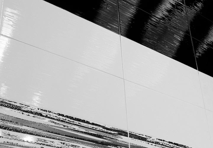 Star -sarjan seinälaatat sävyissä White ja Black